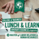 Lunch & Learn: Master of Labor Relations & Human Resources