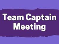 VIRTUAL Team Captain's Meeting