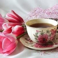 Tea and Tulips image