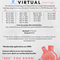 The Institute of Cardiology at El Paso- Virtual Meetings