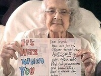 Brighten a nursing home resident's day- Write a letter!