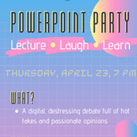 powerpoint party graphic