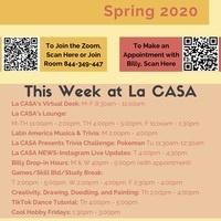 Virtual La CASA Calendar