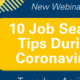 10 Job Search Tips During Coronavirus