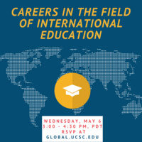 [Virtual] Careers in the Field of International Education