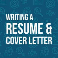 Career Toolkit Webinar Series: Writing a Resume & Cover Letter