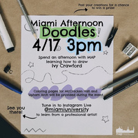 Miami Afternoon Doodles with Map. Learn how to draw Ivy Crawford.