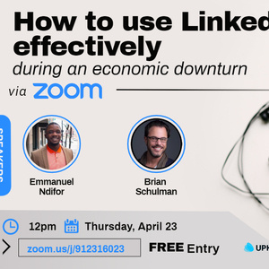 Webinar: How to use LinkedIn effectively during an economic downturn