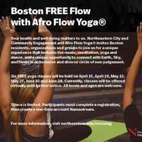 Boston FREE Flow with Afrow Flow Yoga