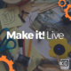Welcome to Make It! Live - real-time, interactive programming led by KID Museum Maker Educators, delivered to you at home.