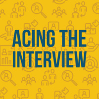 Career Toolkit Webinar Series: Acing the Interview