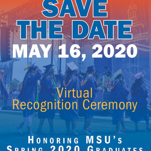 Virtual Recognition Ceremony for 2020 Spring Graduates