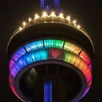 CN Tower: Nightly Light Shows