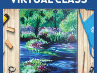 Virtual Online Class w/Curbside Supply Pick Up Option