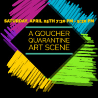 A Goucher Quarantine Art Scene
