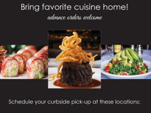 Bring your Favorite Cuisine Home!