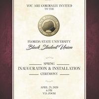 BSU Inauguration 2020