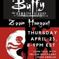 Buffy-Themed Zoom Hangout