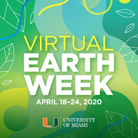 Virtual Earth Week, April 18-24, 2020