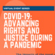 COVID-19 in Conflict: What to Expect? And What Can be Done?