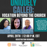 Uniquely Called: Vocation Beyond the Church