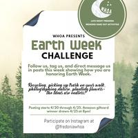 WHOA Earth Week Challenge
