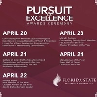 Pursuit of Excellence Awards