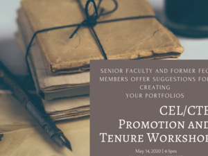 Promotion & Tenure Workshop for Contracted Faculty