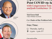 TeleTown Hall with Tom Reed (R-NY) and Josh Gottheimer (D-NJ)