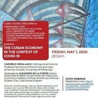 The Cuban Economy in the Context of COVID-19