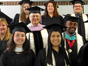 Pitt-Greensburg Alumni group at 2019 Commencement