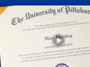 Pitt-Greensburg Virtual Diploma Distribution