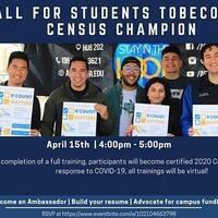 UCR Counts: Census Champion Training