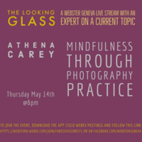 """""""The Looking Glass"""" Livestream: Mindfulness Through Photography Practice by Athena Carey"""
