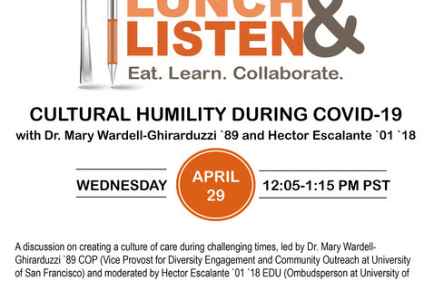 Lunch & Listen: Cultural Humility