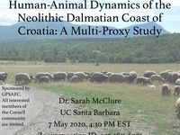 Archaeological Science Group - Sarah McClure Virtual Lecture