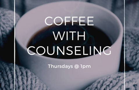 Coffee with Counseling Flyer