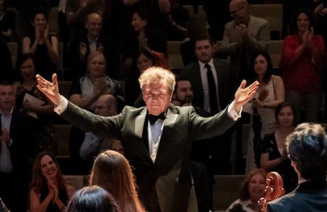 Virtual Concert:  Frost Symphony plays Brahms No. 2