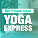 Live: Express Yoga with Brie