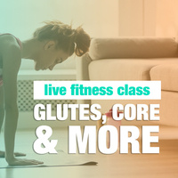 Live: Glutes, Core and More with Jenna