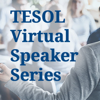 TESOL Webinar Series Meet the Faculty: Dr. Perren