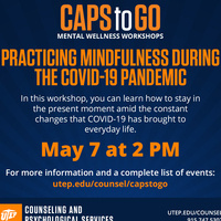 Practicing Mindfulness During the COVID-19 Pandemic
