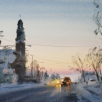 Watercolor Demonstration with Andy Evansen - VIRTUAL