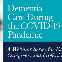 Dementia Care During the COVID-19 Pandemic logo