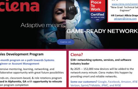 Ciena Communication Hiring Information Session!
