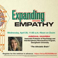 Expanding Empathy Speaker Series: Abigail Marsh