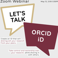 Managing Your ORCID ID
