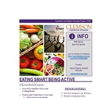 EFNEP Facebook LIVE - Eating Smart Being Active