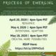 Process of Emerging Community Calls