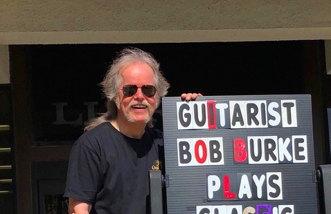 CANCELLED Tuesdays at Two: Live Music with Bob Burke